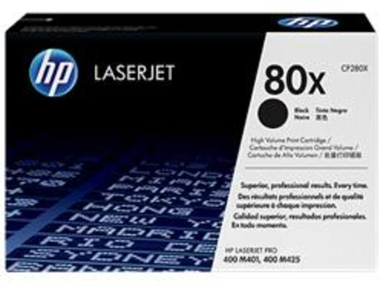 HP tisková kazeta černá velká, CF280X originál