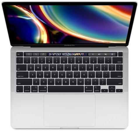 "Apple MacBook Pro 13,3"" Touch Bar / 1,4GHz / 8GB / 256GB stříbrná (2020), MXK62CZ/A"