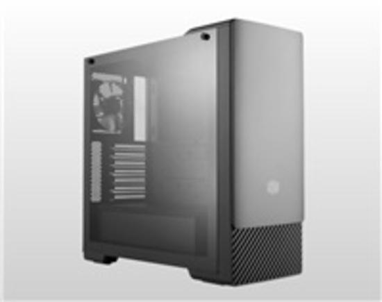 Cooler Master case MasterBox E500, ATX, Mid Tower, černá, bez zdroje, MCB-E500-KGNN-S00