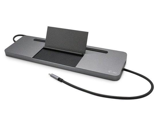 i-tec USB-C Metal Low Profile Triple Display Docking Station + Power Delivery 85 W