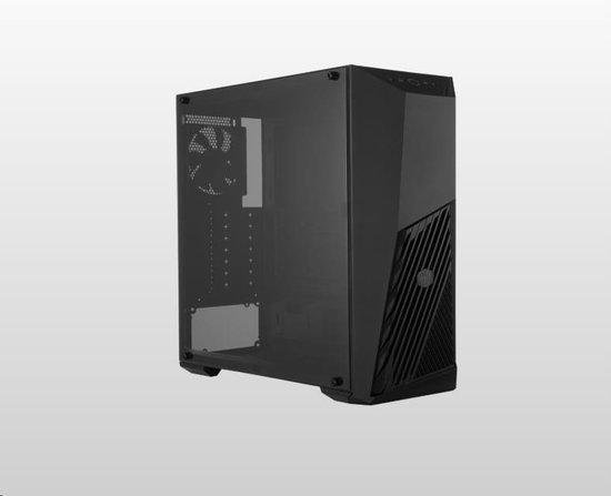 Cooler Master case MasterBox K501L, ATX, Mid Tower, černá, bez zdroje, MCB-K501L-KANN-S00
