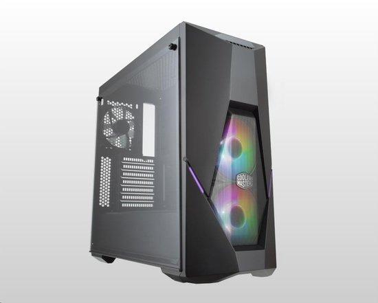 Cooler Master case MasterBox K500 aRGB, ATX, Mid Tower, černá, bez zdroje, MCB-K500D-KGNN-S02