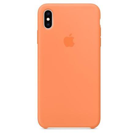 Pouzdro iPhone XS Max Silicone Case - Papaya