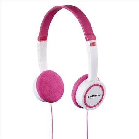 Thomson sluchátka HED1105, dětská, růžová