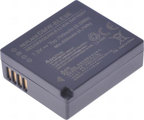 Baterie T6 power Panasonic DMW-BLE9, DMW-BLE9E, DMW-BLG10, DMW-BLG10E, BP-DC15, 700mAh, 5Wh