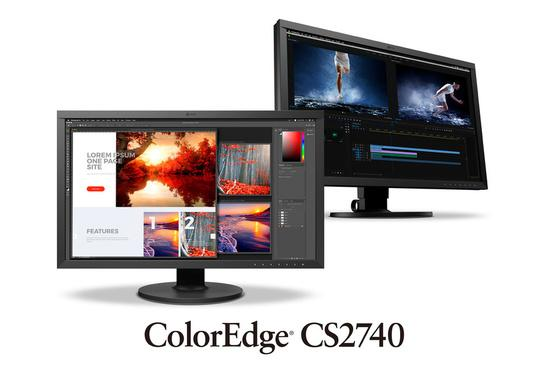 "EIZO CS2740 27"" Wide IPS/3840 x 2160 (4K UHD)/1000:1/350 cd/m2/ DP/USB-C/HDMI/černý"