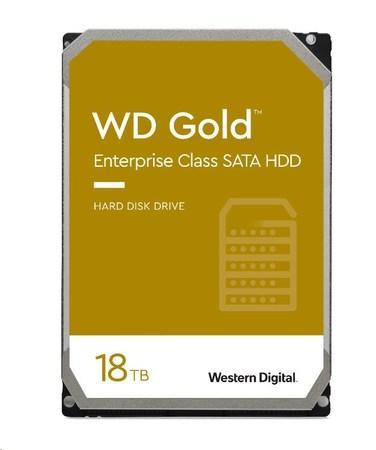 WD GOLD WD181KRYZ 18TB SATA/ 6Gb/s 512MB cache 7200 ot., WD181KRYZ