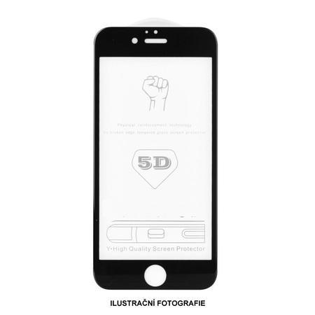 5D tvrzené sklo Samsung A51 Black (A515) FULL GLUE