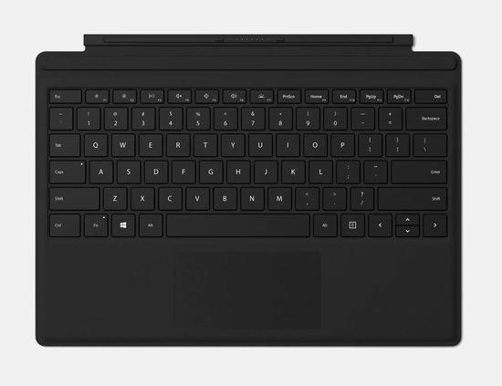 Microsoft Surface Go Type Cover (Black) Refresh, Commercial, ENG