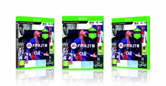 EA FIFA 21 hra XONE