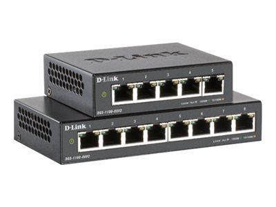 5-Port Gigabit PoE Smart Managed Switch, 5-Port Gigabit PoE Smart Managed Switch, DGS-1100-05PDV2