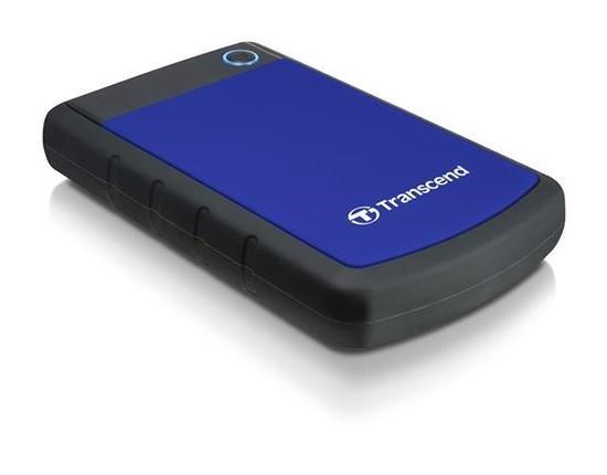 """TRANSCEND externí HDD 2,5"""" USB 3.0 StoreJet 25H3B, 4TB, Blue (nárazuvzdorný), TS4TSJ25H3B"""