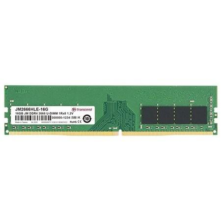 Transcend paměť 16GB DDR4 2666 U-DIMM (JetRam) 1Rx8 CL19