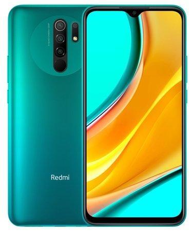 XIAOMI Redmi 9 zelený 3GB/32GB