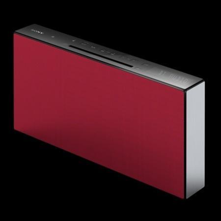 SONY CMT-X3CD Systém Hi-Fi s technologií BLUETOOTH® a NFC - RED
