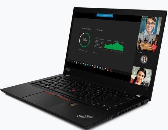 "LENOVO ThinkPad T14s AMD - Ryzen 5 PRO 4650U@2.1Ghz,14"" FHD IPS mat,16GB,256SSD,noDVD,HDMI,backl,cam,W10P,3r carryin, 20UH0019CK"