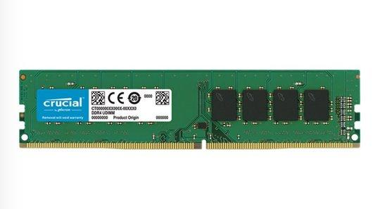 Crucial DDR4 8GB DIMM 2666MHz CL19, CT8G4DFRA266
