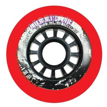 Kolečka Powerslide Hurricane Red (4ks), 85A, 80