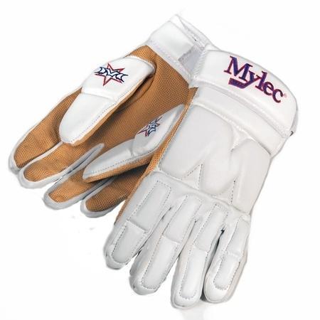 """Hokejbalové rukavice Mylec Elite Street White, 14"""", M, bílá"""