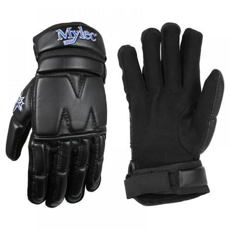 """Hokejbalové rukavice Mylec Elite Street Black, 13"""", S, černá"""