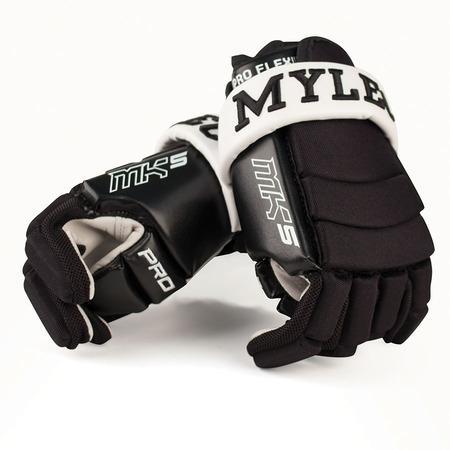 """Hokejbalové rukavice Mylec MK5, 9"""", černá"""