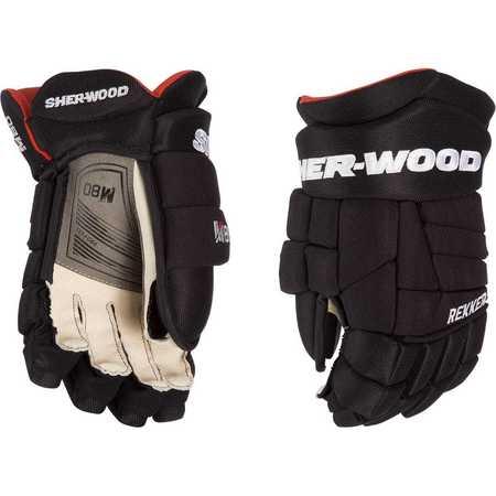 "Rukavice Sher-wood Rekker M80 SR, černá, Senior, 14"""