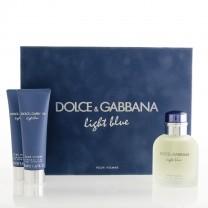 Dolce Gabbana Light Blue EDT M 125ml + SG 50ml + ASB 75ml SET