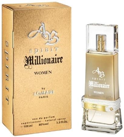Lomani AB Spirit Millionaire parfémovaná voda 100ml Pro ženy