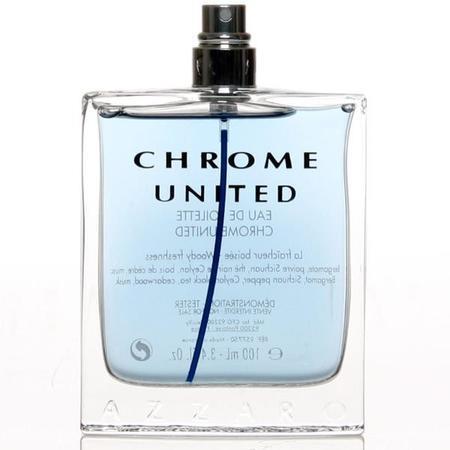 Azzaro Chrome United toaletní voda 100ml Pro muže TESTER
