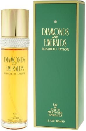 Elizabeth Taylor Diamonds And Emeralds toaletní voda Pro ženy 100ml