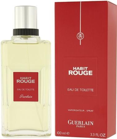 Guerlain Habit Rouge toaletní voda Pro muže 100ml