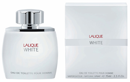 Lalique White - toaletní voda s rozprašovačem 125 ml