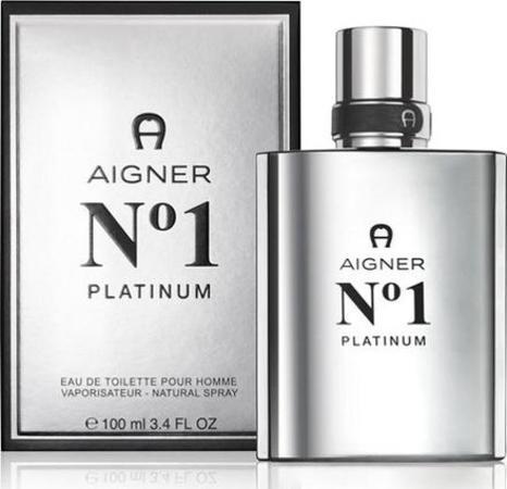 Etienne Aigner Aigner No.1 Platinum toaletní voda Pro muže 100ml