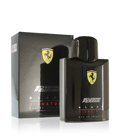 Ferrari Scuderia Ferrari Black Signature toaletní voda 125ml Pro muže