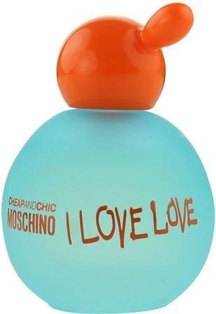 Moschino Cheap & Chic I Love Love toaletní voda Pro ženy 4,9ml TESTER