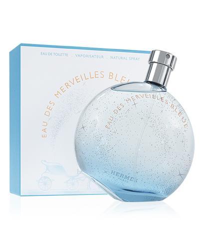 Hermes Eau des Merveilles Bleue toaletní voda 100ml Pro ženy