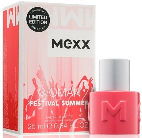 Mexx Woman Festival Summer toaletní voda 25ml Pro ženy