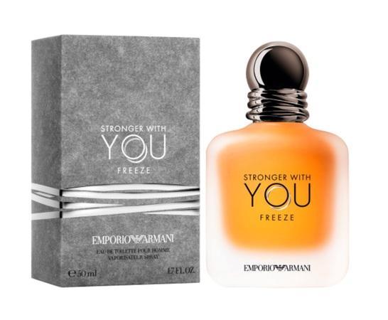 Giorgio Armani Emporio Armani Stronger With You Freeze toaletní voda Pro muže 50ml