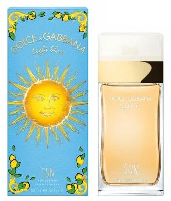 Dolce & Gabbana Light Blue Sun toaletní voda 100ml Pro ženy
