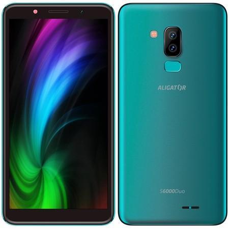 Mobilní telefon Aligator S6000 Dual SIM - zelený