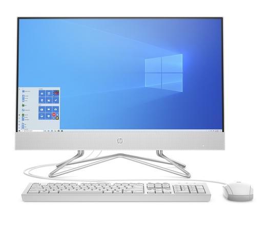 """Počítač All In One HP 24-df0002nc 24"""", 1920 x 1080, dotykový, Athlon 3050U, 8GB, 512GB, bez mechaniky, Radeon Vega, W10 Home - bílý"""