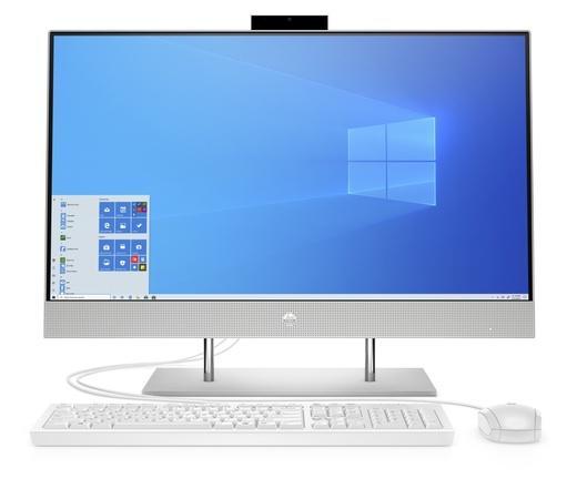 HP AIO 27-dp0001nc / 27`` IPS FHD AG / Core i5-10400T / 16GB / 512GB SSD / Intel UHD 630 / 5xUSB / 1xHDMI / RJ45 / Win 10 Home / Silver