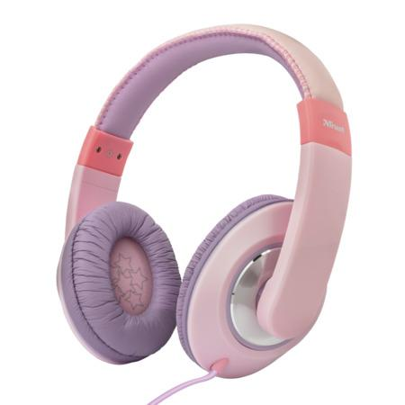 TRUST Sonin Kids Headphones - pink