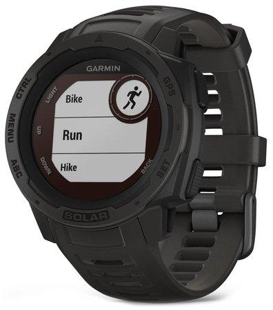 Garmin GPS sportovní hodinky Instinct Solar Black Optic