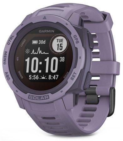 GPS hodinky Garmin Instinct Solar Optic - fialová
