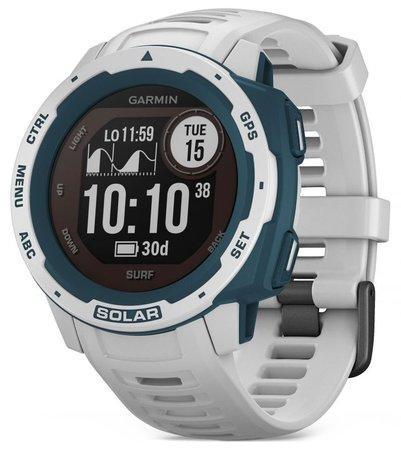 Garmin GPS sportovní hodinky Instinct Solar Surf White Optic