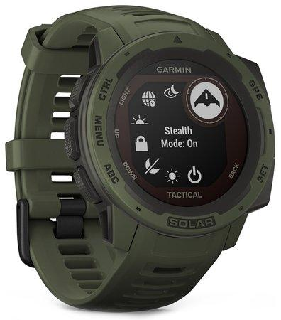 GPS hodinky Garmin Instinct Solar Tactical Optic - zelená