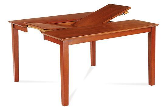 Autronic AUB-200 TR2 Jídelní stůl rozkl. 91+45x136x75 cm, barva třešeň
