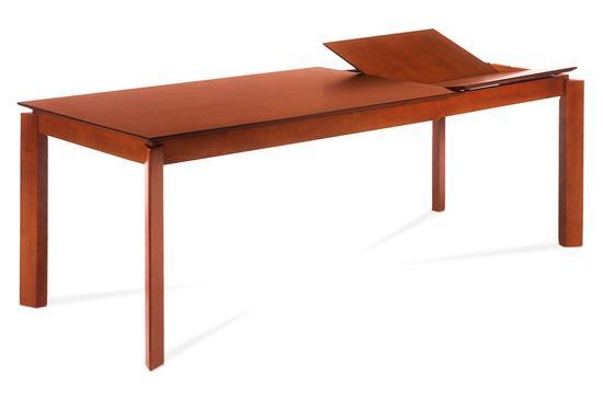 Autronic AUT-6462 TR2 Jídelní stůl rozkl. 150+70x90 cm, barva třešeň