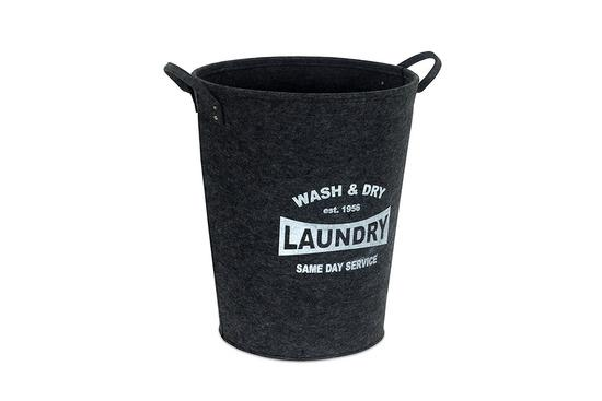 Autronic KD4416 Koš prádelní z plsti, barva tmavě šedá